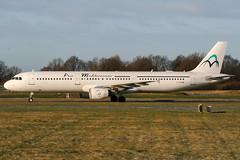 F-GYAN (PlanePixNase) Tags: aircraft airport planespotting haj eddv hannover langenhagen plane mediterranean airmediterranean airbus 321 a321