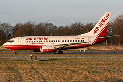 D-ABBV (PlanePixNase) Tags: aircraft airport planespotting haj eddv hannover langenhagen plane boeing 737 airberlin 737700 b737