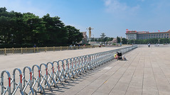 019Sep 20: Tiananmen Closing, Beijing (Johan Pipet 2M+ views) Tags: flickr china prc beijing peking čína asia travel square place moment history old architecture fence security close noon sunny city town downtown megapolis palo bartos bartoš canon g7x markii