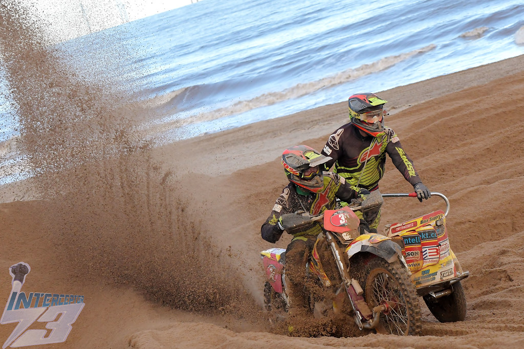 Alun Davies/James Ferguson, 2019 AMCA Skegness Beach Motocross, Quads & Sidecars, 9th November