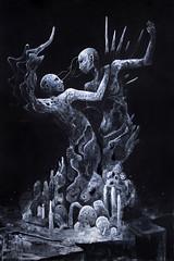 Sei La Vita E La Morte (2020) (Le.Nevralgie.Costanti) Tags: darkness dark darkart darkartist surrealism