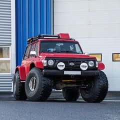 Nissan Patrol 1990 (brynjarsteel) Tags: nissan nissanpatrol patrol patroly60 offroad offroadvehicle expedition explorewithoutlimits lifted sony sonyalpha sonya5100 sony5100 iceland