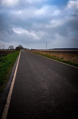 Long road 24/366 (m@rkjs) Tags: fen bank friskney clouds road