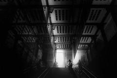 DSC02002D Urban space (soyokazeojisan) Tags: japan osaka city street people light bw blackandwhite monochrome digital sony rx100ⅵ