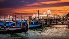Venice sunset (sagapixels) Tags: venice italy tourism sunset tourist gandola river lagoon evening nice beautiful sony a7r3