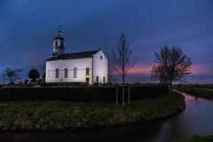 The white church (kevinvlot) Tags: raw tripod longexposure bluehour blauweuur d750 nikond750 nikon wittekerk kerk church