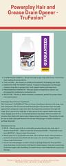 Powerplay Hair and Grease Drain Opener - TruFusion™ (danagpowell19) Tags: hair grease drain opener