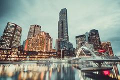 Melbourne CBD (ericmontalban) Tags: longexposure melbourne australia skyscrapers bridges