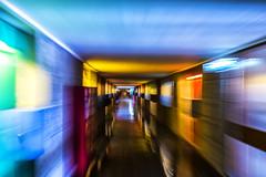 Runnin' (JM@MC) Tags: marseille citéradieuse corbusier unesco france motion mouvement colors