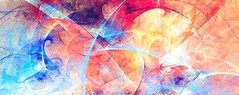 Bright artistic splashes. Abstract painting color texture. Modern pattern. Dynamic bright vibrant background. Fractal artwork for creative graphic design (damylov) Tags: abstract album art artistic artwork background banner blue bright color design fine graphic ink movement multicolor paint painting pattern red texture vibrant wallpaper wide pink belarus