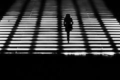 Divergent (paulo josé abrantes) Tags: analogue film konica hexar street photography urban mood night person woman