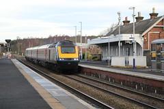 LADYBANK 43134 (johnwebb292) Tags: ladybank fife diesel hst class 43 scotrail 43134