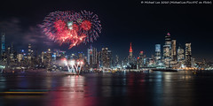 Lunar New Year Fireworks (20200123-DSC02173) (Michael.Lee.Pics.NYC) Tags: newyork lunarnewyear chinesenewyear fireworks hudsonriver midtownmanhattan weehawken newjersey esb empirestatebuilding hudsonyards timessquare night longexposure architecture cityscape skyline sony a7rm4 fe24105mmf4g