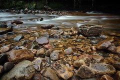 Stones and Flow. Gelt River. 23/01/2020 (Mike Orrell Photography) Tags: cumbria a6000 sony longexposure exposure long winter walks nature woodland geltriver river gelt