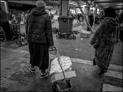 Cart (GColoPhotographer) Tags: streetphotography cart bw market blackandwhite bianconero street