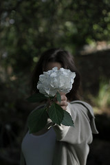 (fervent.png) Tags: nature person girl people emotion vintage flower macro canon aesthetic portrait