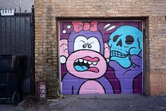 Mosher (drew*in*chicago) Tags: chicago 2020 street art artist paint painter tag mural logansquare graffiti spray outdoor