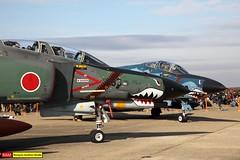 07-6433   RF-4E Kai   JASDF 501 Hikotai (james.ronayne) Tags: 076433 rf4e kai jasdf 501 hikotai aeroplane airplane plane aircraft jet fighter fast military aviation ibr rjah hyakuri canon 80d 100400mm raw open day house air base japanese selfdefense force
