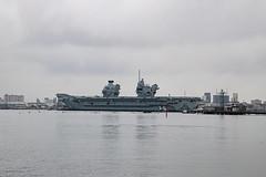 HMS Queen Elizabeth (Steeler Nation UK) Tags: hms queen elizabeth portsmouth royal navy aircraft carrier
