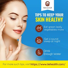 Tips for healthy skin (iiehealth9) Tags: skincare skincaretips healthcaretips beautytips healthnews onlinehealthplatform onlinehealthplatformindia webhealthplatform healthcarewebportal healthcareengagementplatform healthnewsportal