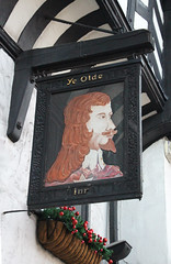 English Pub Sign - Ye Olde Inn - Chester (big_jeff_leo) Tags: pubsign pub publichouse chester english england ale timberframed oldbuilding king charles