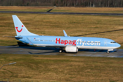 D-AHLP (PlanePixNase) Tags: aircraft airport planespotting haj eddv hannover langenhagen plane boeing 737800 737 b738 tui tuifly hapaglloyd hapagfly
