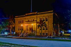 City of Avon Park City Hall building, 110 E Main Street, Avon Park, Florida, USA / Built: 1928-1934 / Addition & Renovations: 1992-2014-15 / Original Architects: W.J. Heim, John McMichael / Restoration Architect: Terry A. Hunter /  Floors: 2 + Basement (Photographer South Florida) Tags: avonpark highlandscounty florida historical city cityscape urban downtown centralflorida centralbusinessdistrict building architecture commercialproperty cosmopolitan metro metropolitan metropolis sunshinestate realestate commercialoffice lakeverona historicalflorida oldflorida jacarandahotel streetphotography cityofavonparkcityhallbuilding 110emainstreet usa contructed19281934 additionrenovations1992 wjheim johnmcmichael terryahunter floors2basement longexposure nightphotography