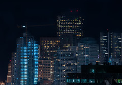 seasons change (pbo31) Tags: sanfrancisco california nikon d810 night dark city black january 2020 boury pbo31 winter over color potrerohill view skyline urban construction crane contemporary architecture hotel fourseasons residences