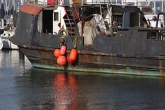 Work Boat (Damian Gadal) Tags: santabarbara california harbor nautical