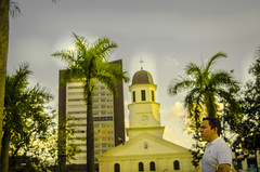 Itagüí, Antioquia. Medellin, Colombia. (Capitancapitan) Tags: itagui antioquia medellin colombia beautiful country pentax street photography photographer colors city world love peace land church plaza trees palms instagram facebook youtube