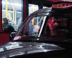 Night Eyes (Alex Flynn) Tags: taxi bus night driver eyes thestrand london uk streetphotography