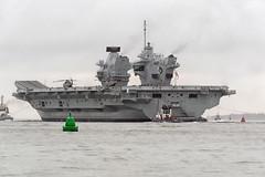 IMG_3575aa_DxOa    *** Best viewed full screen *** (alanbryherhowell) Tags: navy royal carrier aircraft solent elizabeth queen hms