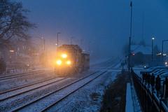 Dead Weight (BravoDelta1999) Tags: unionpacific up railroad chicagoandnorthwestern cnw railway metra metx northwestline upnw harvardsubdivision parkridge illinois depot station emd gp402 1430 yno68