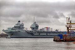 IMG_3539aa_DxOa     *** Best viewed full screen *** (alanbryherhowell) Tags: navy royal carrier aircraft solent elizabeth queen hms
