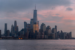 Good evening, New York ! (ricardocarmonafdez) Tags: newyork manhattan nyc cityscape skyline sunset skyscrapers lowlight arquitectura architecture cielo sky colors ventanas windows ricardocarmonafdez ricardojcf nikon d850 lighting lights darkness