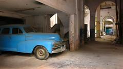 CUBA La Habana Centro X (stega60) Tags: cuba lahabana lahabanavieja old car oldtimer coche azul blue dark light stega60