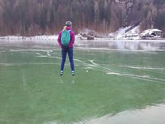 "Kraakhelder ijs bij ""Dolomitenblick"", Weissensee-oost, 16-1-2020 (Syco Fennema) Tags: stockenboi karinthië oostenrijk"