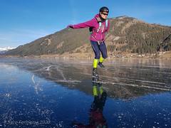 Zo glad als een spiegel, Weissensee-oost, 15-1-2020 (Syco Fennema) Tags: weissensee karinthië oostenrijk