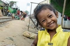 Railway Slums Portrait; Phnom Penh