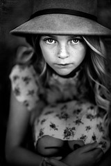 Kennedy ({jessica drossin}) Tags: jessicadrossin kid girl face portrait blackandwhite close up wwwjessicadrossincom