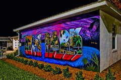 City of Avon Park, Highlands County, Florida, USA (Photographer South Florida) Tags: avonpark highlandscounty florida historical city cityscape urban downtown centralflorida centralbusinessdistrict building architecture commercialproperty cosmopolitan metro metropolitan metropolis sunshinestate realestate commercialoffice lakeverona historicalflorida oldflorida jacarandahotel streetphotography longexposure nightphotography mural murals colorful greetingsfromavonpark