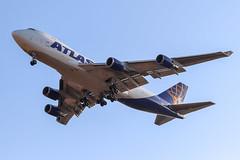 Atlas Air - N408MC - B747-47UF (Athanasios Ozrefanidis) Tags: atlas b7474 b747 boeing jumbo b7474f lgav 747 747f 747400 cargo