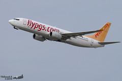 Boeing 737 -82R(WL) PEGASUS AIRLINES TC-CPG 40880 Genève octobre 2019 (Thibaud.S.) Tags: boeing 737 82rwl pegasus airlines tccpg 40880 genève octobre 2019
