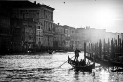 VENICE DIARY (B. Hanner-Schmitz / W. Schmitz) Tags: venice venise venedig venezia canalegrande gondola street bw noirblanc