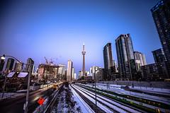 January 20,  2020. (Amanda Catching) Tags: today longexposure light line toronto city skyline winter