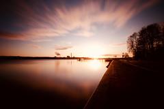 Kiellinie - Kiel Sunrise (kuestenkind) Tags: kiel kiellinie promenade förde schleswigholstein norddeutschland sunrise sonnenaufgang northgermany canon 6d langzeitbelichtung longexposure