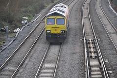 Freightliner, Class 66 (Tom_bal) Tags: freightliner british rail class 66 filton bank nikon d90 train bristol