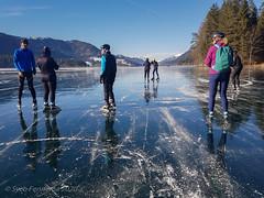 Overleg en even rust, Weissensee-oost, 16-1-2020 (Syco Fennema) Tags: weissensee karinthië oostenrijk