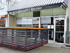 Absinthe Bistro (knightbefore_99) Tags: restaurant thedrive bc awesome commercialdrive vancouver eastvan street best absinthe bistro new location french fantastic art tasty awning classic fine