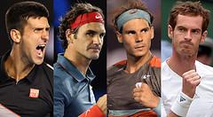 Whenever the Big Four play large tournaments and Grand Slams (vijayaprakashboggala) Tags: whenever big four play large tournaments grand slams vijaya prakash boggala